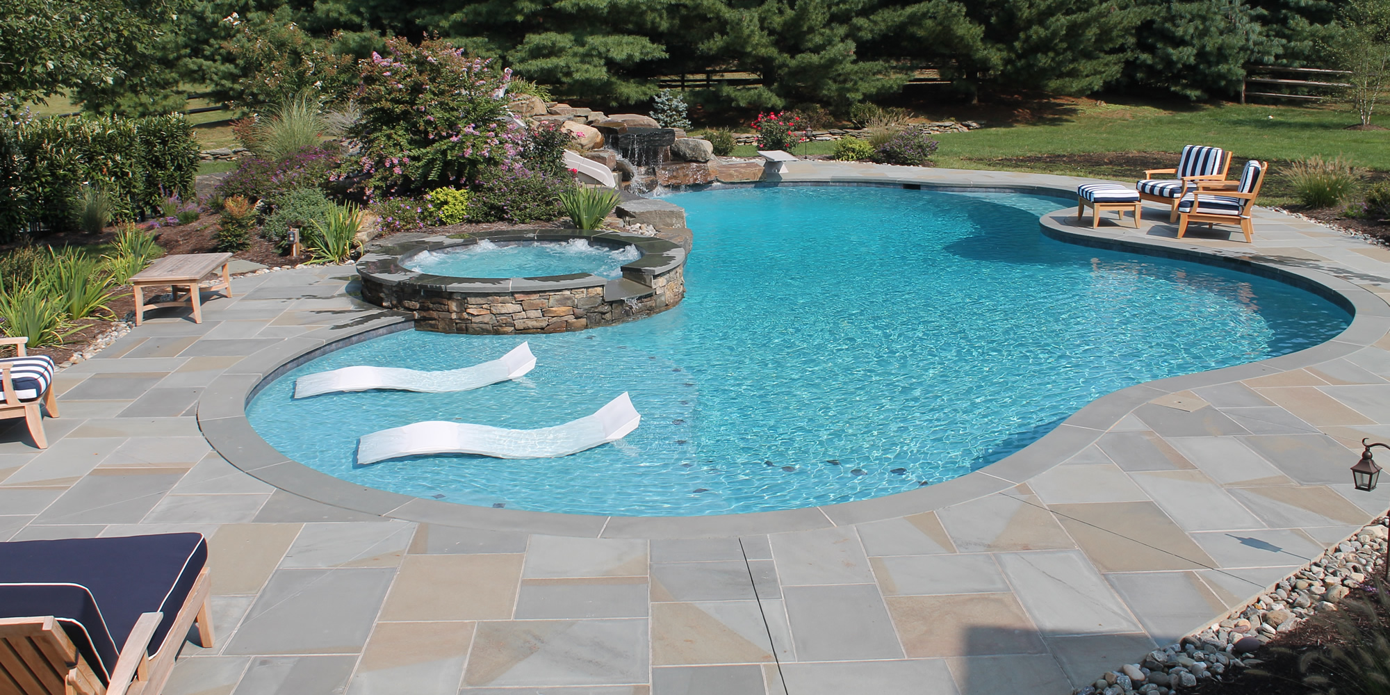 Pools, Spas, Water Features, Custom Pool Renovations